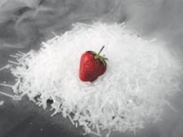 Dry Ice Strawberry